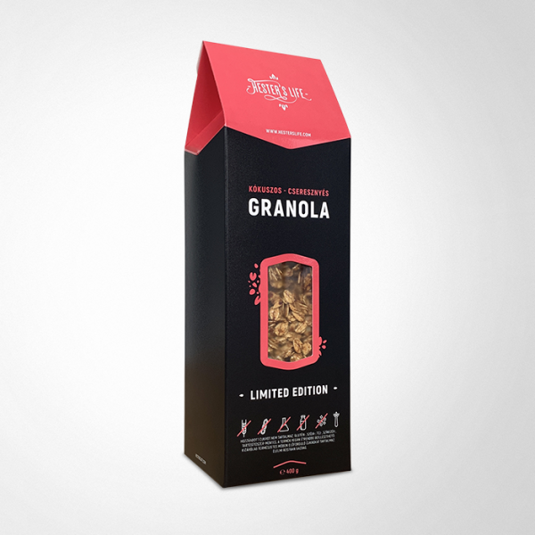 Hester's Life Limited Edition  extra granola