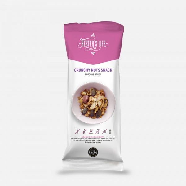 Hester's Life Crunchy Nuts Snack togo